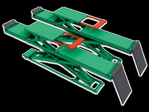 超薄型四輪定位用頂車機 JS-S-AT35-PO