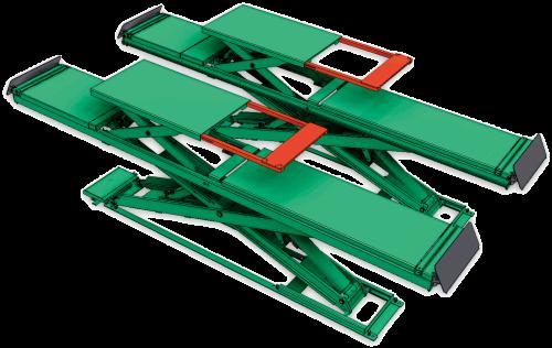 超薄型四輪定位用頂車機 JS-S-AT35-GO